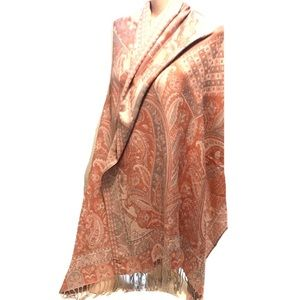 100% Pashmina oversized scarf